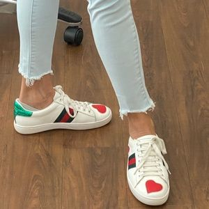 🤩HOST PICK🤩 GUCCI Ace ❤️ Sneaker 38 - SOLD OUT